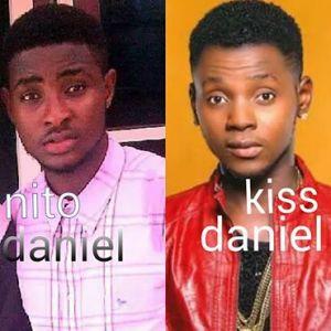 """...Kiss Daniel lookalike..."""
