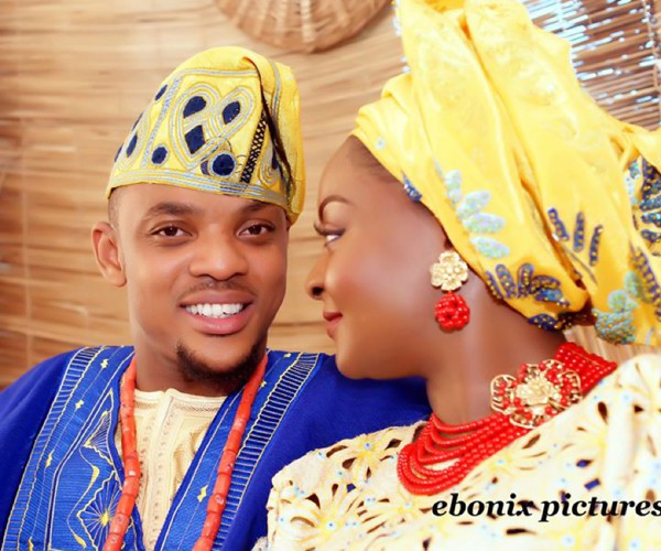 yellow-blue-yoruba-nigerian-traditional-wedding-feferity